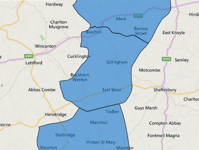 Gillingham News Map