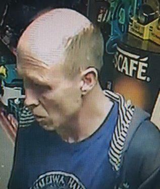 CCTV shoplifting suspect Blandford