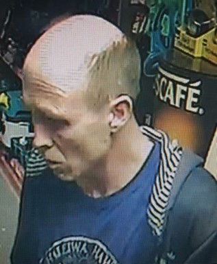 CCTV shoplifting suspect Blandford