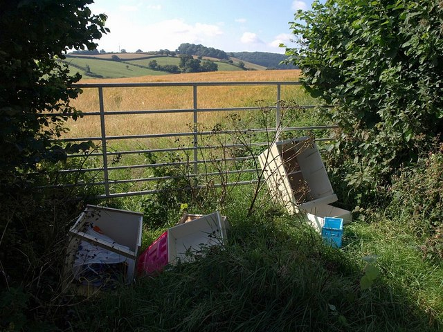 fly-tipping rural crime Dorset