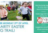 Easter egg trail Shaftesbury