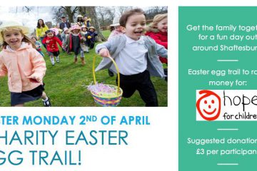 Easter egg trail Shaftesbury