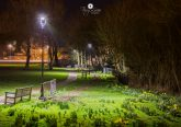 Town meadow lights Gillingham