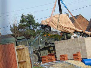 Gillingham Salisbury recovery truck