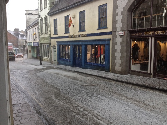 hail storm shaftesbury