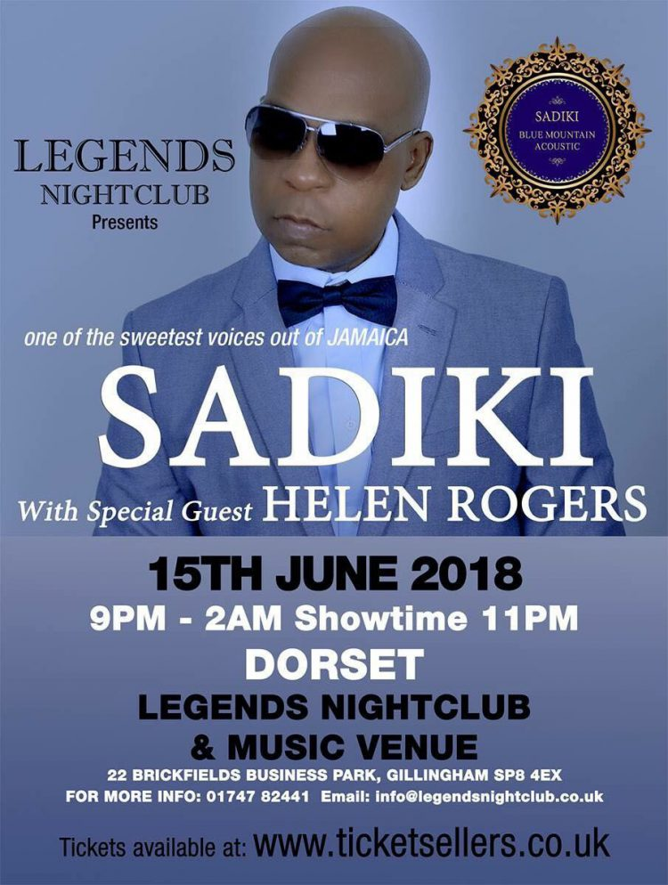 Legends, Sadiki