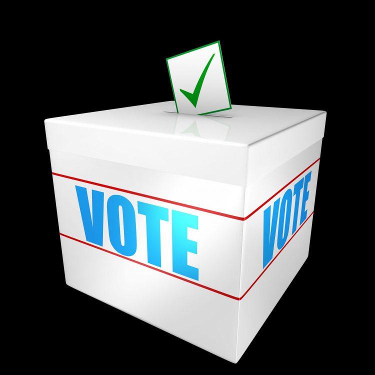 vote election ballot box Gillingham