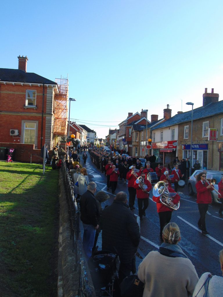 Gillingham memorial parade 2018
