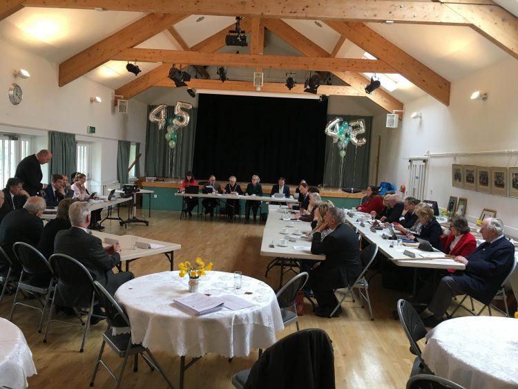 North Dorset district council last meeting 2019