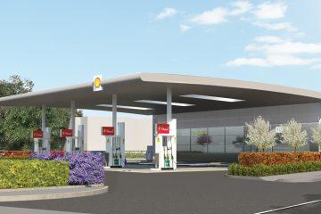 petrol station gillingham