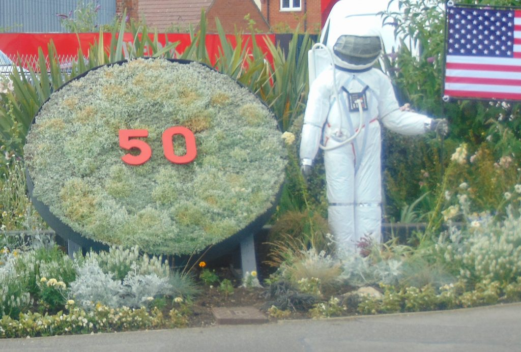 Gillingham astronaut