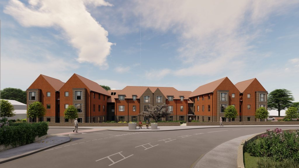 St Martins extra care homes Gillingham