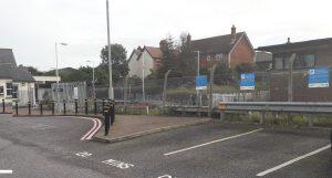 parking bays Gillingham station