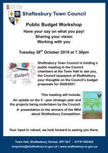 Shaftesbury budget