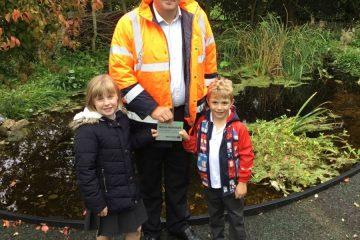 school pond Shaftesbury