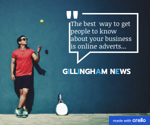 Gill News tennis style ad
