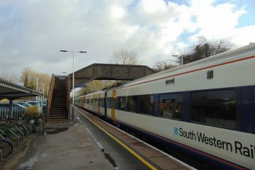 South Western Railway Gillingham rail station
