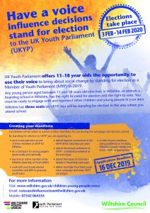 Youth Parliament wiltshire